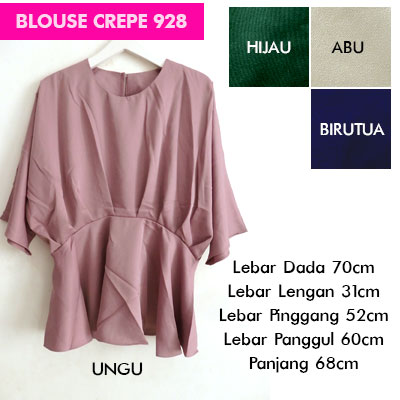 BLOUSE-CREPE-928-130RB